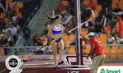Tiebreaker Times PH sweeps pole vault as Natalie Uy sets SEAG record 2019 SEA Games News Track & Field  Natalie Uy 2019 SEA Games - Athletics 2019 SEA Games