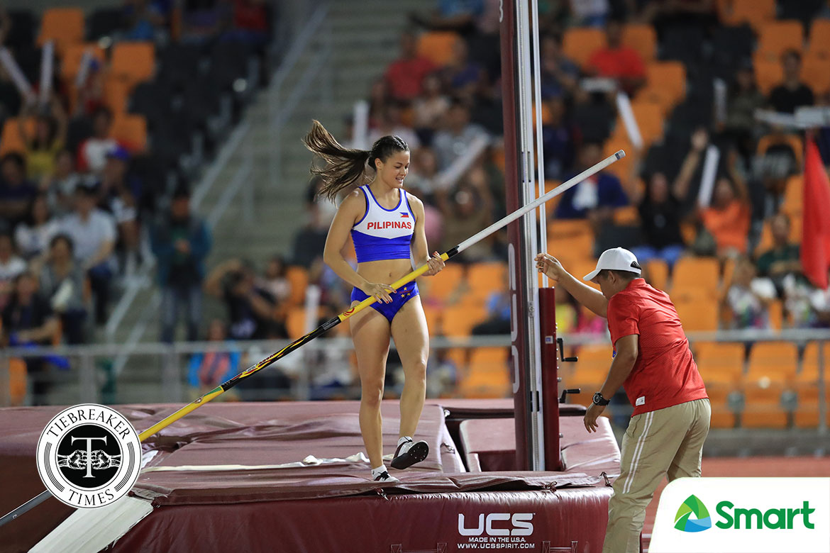 Tiebreaker Times Natalie Uy remains laser-focused on Olympic berth 2020 Tokyo Olympics News Track & Field  Philippine Athletics Track and Field Association Natalie Uy