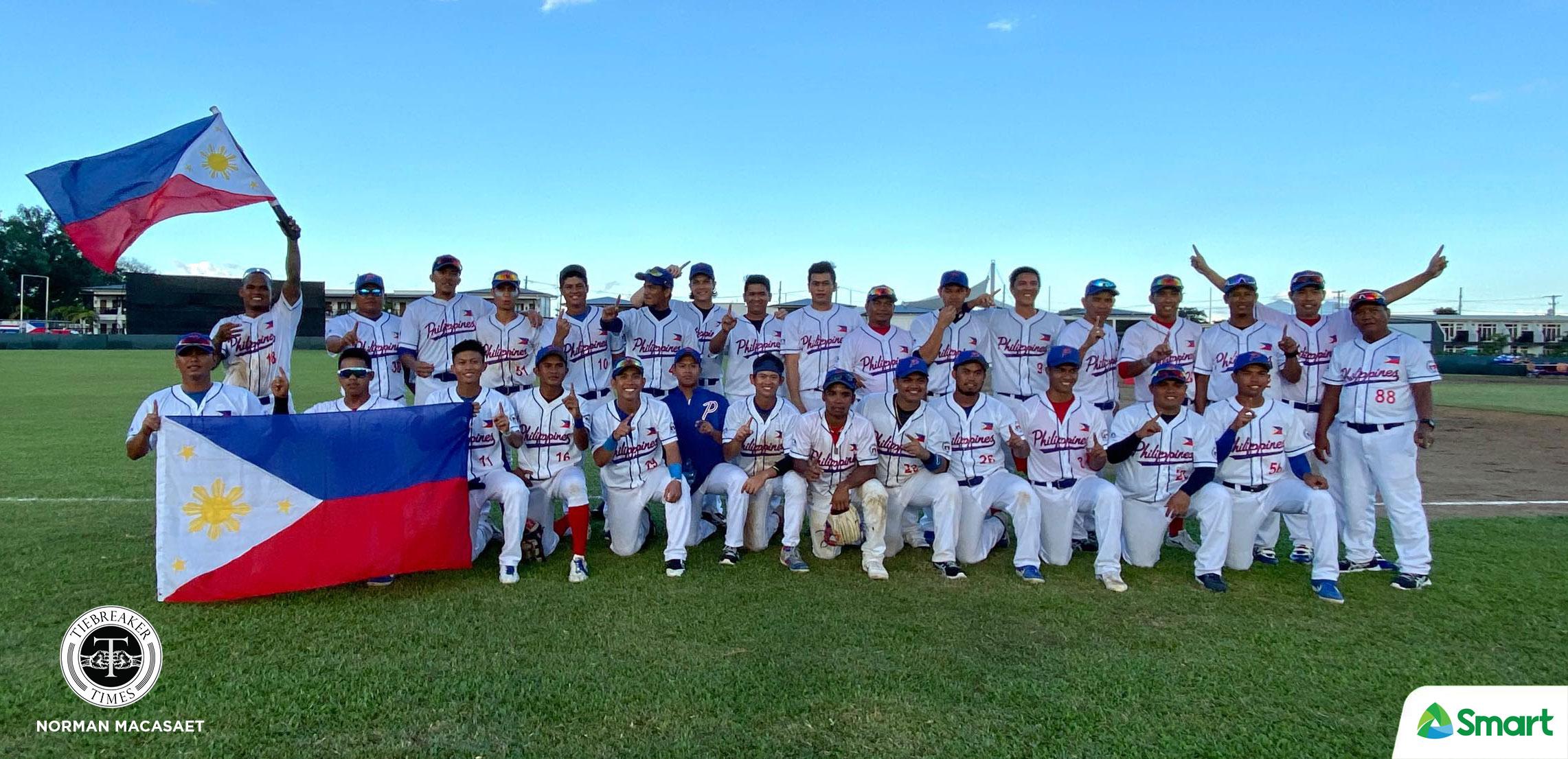 Tiebreaker Times PH Baseball remains king of SEAG 2019 SEA Games Baseball News  Thailand (Baseball) Philippine Men's National Baseball Team Orlando Binarao Kiko Gesmundo 2019 SEA Games - Baseball 2019 SEA Games
