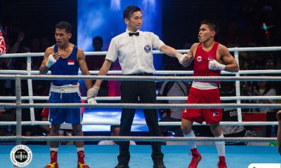 Tiebreaker Times Carlo Paalam dominant vs Afghan foe, to face top seed next in OQT 2020 Tokyo Olympics Boxing News  carlo paalam 2020 Asia and Oceania Olympic Boxing Qualifiers