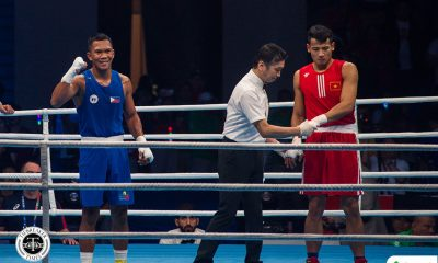 Tiebreaker Times Eumir Marcial advances to OQT finals 2020 Tokyo Olympics Boxing News  Eumir Marcial 2020 Asia and Oceania Olympic Boxing Qualifiers