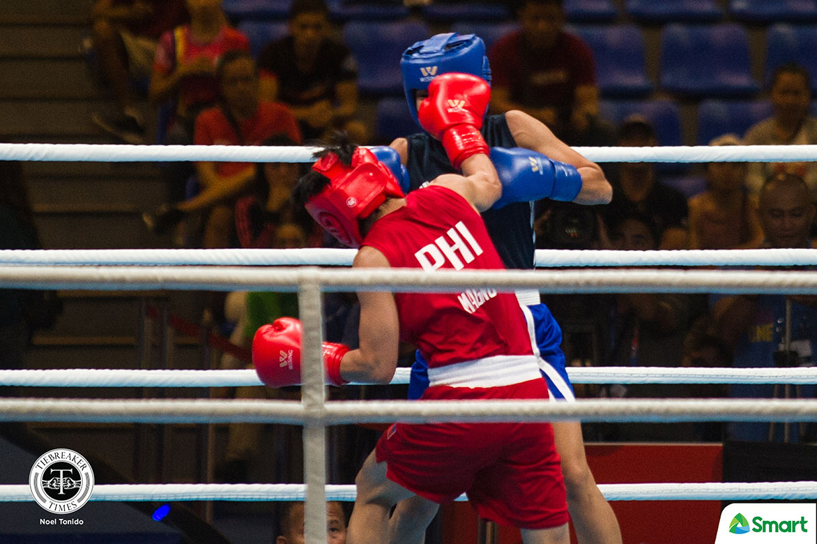 Tiebreaker Times Irish Magno's gallant stand not enough vs six-time champ, falls to OQT box-off 2020 Tokyo Olympics Boxing News  Irish Magno 2020 Asia and Oceania Olympic Boxing Qualifiers