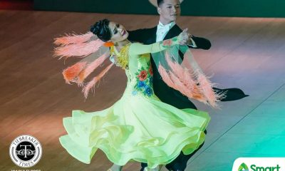 Tiebreaker Times Golden dancesport couples show that love conquered all in SEAG 2019 SEA Games Dancesport News  Sean Aranar Mary Joy Renigen Mark Jayson Gayon Leonila Nualla 2019 SEA Games - Dancesport 2019 SEA Games