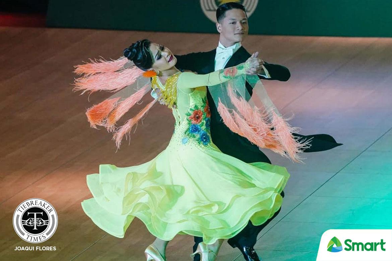 Tiebreaker Times Golden dancesport couples show that love conquered all in SEAG 2019 SEA Games Dancesport News  Sean Aranar Mary Joy Renigen Mark Jayson Gayon Leonila Nualla 2019 SEA Games - Dancesport 2019 SEA Games