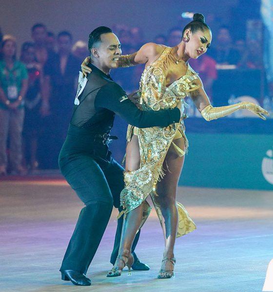 Tiebreaker Times PH Dancesport Team close campaign with 10 SEA Games golds 2019 SEA Games Dancesport News  Wilbert Aunzo Stephanie Sabalo Philippine National Dancesport Team Pearl Caneda Michael Angelo Marquez 2019 SEA Games - Dancesport 2019 SEA Games