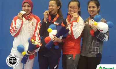 Tiebreaker Times Jylyn Nicanor secures Philippines first 2019 SEAG fencing gold 2019 SEA Games Fencing News  Jylyn Nicanor 2019 SEA Games - Fencing 2019 SEA Games