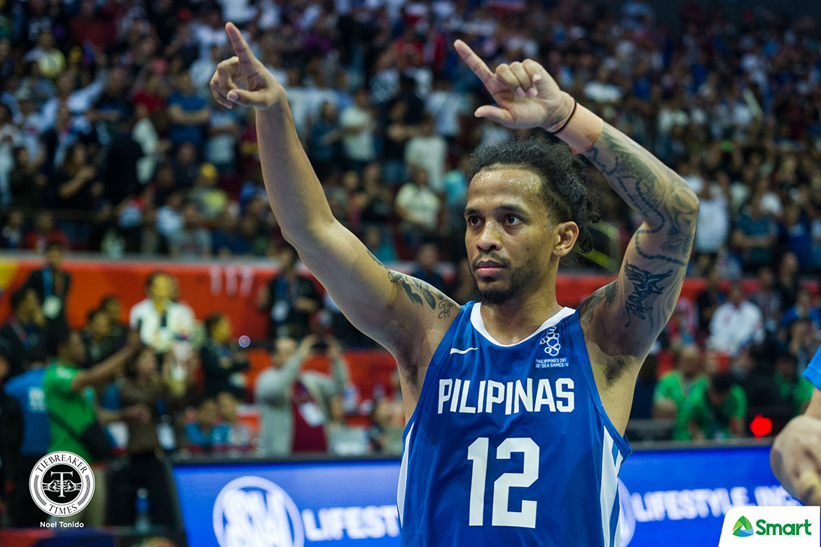 Tiebreaker Times Chris Ross makes most out of Gilas stint, ends up with gold 2019 SEA Games Basketball Gilas Pilipinas News  Gilas Pilipinas Men Chris Ross 2019 SEA Games - Basketball 2019 SEA Games