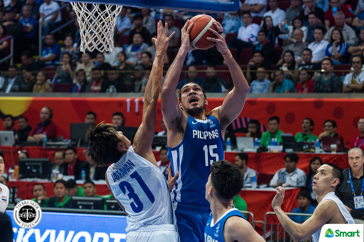 Tiebreaker Times Out of all his championships, June Mar Fajardo will never forget SEAG gold 2019 SEA Games Basketball Gilas Pilipinas News  June Mar Fajardo Gilas Pilipinas Men 2019 SEA Games - Basketball 2019 SEA Games