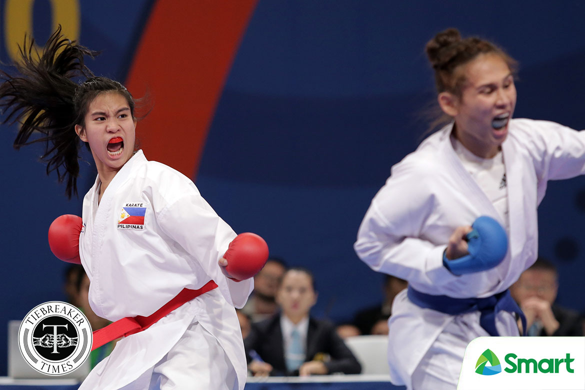 Tiebreaker Times Like the Skywalker: Samboy Lim's daughter Jamie wins SEAG gold 2019 SEA Games Karate News  Samboy Lim Jamie Lim 2019 SEA Games - Karate 2019 SEA Games