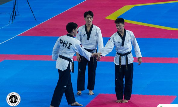 Tiebreaker Times Dustin Mella leaves competitive poomsae a SEAG legend 2019 SEA Games News Taekwondo  Dustin Mella 2019 SEA Games - Taekwondo 2019 SEA Games