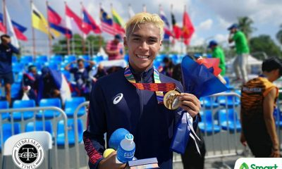Tiebreaker Times Michael Comaling bounces back in SEA Games beach triathle 2019 SEA Games Modern Pentathlon News  Michael Comaling 2019 SEA Games - Modern Pentathlon 2019 SEA Games