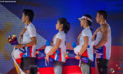 Tiebreaker Times OCR Pilipinas completes six SEAG gold sweep Uncategorized  Sandi Menchi Abahan OCR Pilipinas Mohammad Sherwin Managil Mervin Guarte Glorien Merisco 2019 SEA Games - Obstacle Sports 2019 SEA Games