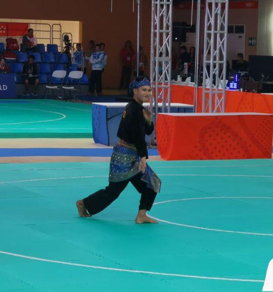 Tiebreaker Times Iloilo's Edmar Tacuel cops gold in SEA Games Pencak Silat 2019 SEA Games News Pencak Silat  Edmar Tacuel 2019 SEA Games - Pencak Silat 2019 SEA Games