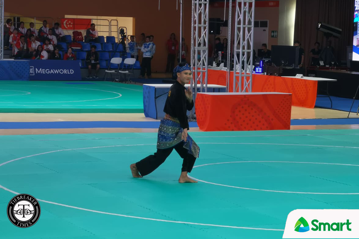 Tiebreaker Times Iloilo's Edmar Tacuel cops gold in SEA Games Pencak Silat 2019 SEA Games News Pencak Silat  Edmar Tacuel 2019 SEA Games - Pencak Silat 2019 SEA Games