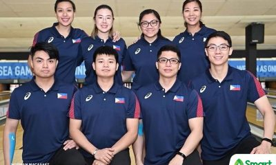 Tiebreaker Times PH Bowling fall short of podium anew, finish 5th and 7th in SEAG mixed doubles 2019 SEA Games Bowling News  Merwin Tan Kenneth Chua Bea Hernandez Alexis Sy 2019 SEA Games - Bowling 2019 SEA Games
