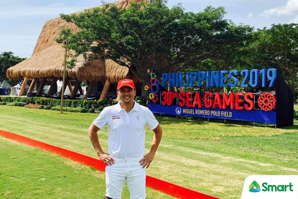 Tiebreaker Times Romero Polo Field earns raves from royalties, VIPs during SEAG 2019 SEA Games News Polo  Tonio Veloso Santi Juban Noel Vecinal Mikee Romeo Julian Garcia Jam Eusebio Franchesca Eusebio Brunei (Polo) Anthony Garcia 2019 SEA Games - Polo 2019 SEA Games
