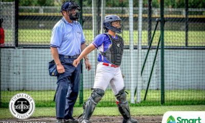 Tiebreaker Times Cheska Altomonte leaves RP Blu Girls at ease 2019 SEA Games News Softball  RP Blu Girls Cheska Altomonte 2019 SEA Games - Softball 2019 SEA Games