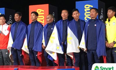 Tiebreaker Times PH sailing ends drought, wins SEAG gold 2019 SEA Games News Surfing  Whok Dimapilis Rubin Cruz Jr. Ridgely Balladares Richly Magsanay Joel Mejarito Edgar Villapena 2019 SEA Games - Sailing 2019 SEA Games