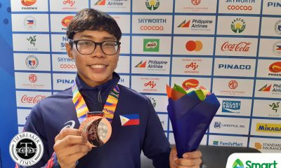 Tiebreaker Times Marc Gonzales snags bronze, gives PH lone medal in SEAG Short Track 2019 SEA Games News Speed Skating  Xsandre Guimba Marc Joseph Gonzales Kayla Gonzales Julian Kyle Macaraeg 2019 SEA Games - Skating 2019 SEA Games