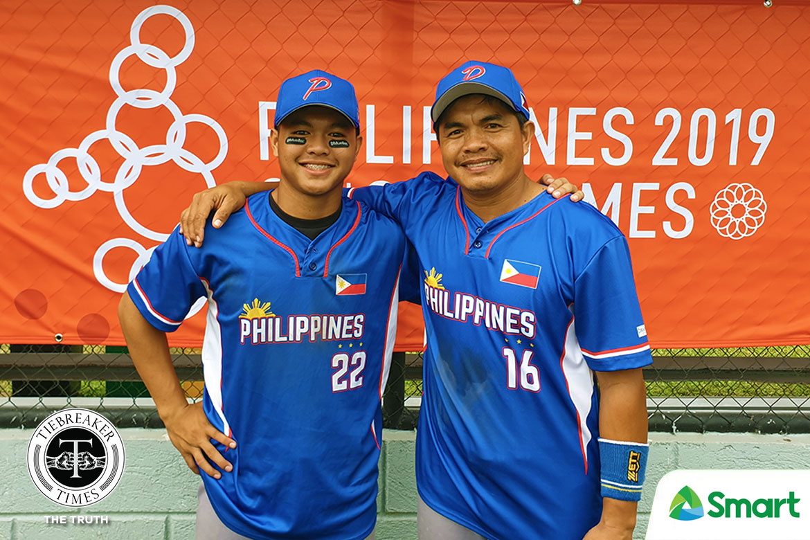 Tiebreaker Times 30th SEA Games is a family affair for RP Blu Boys father and son tandem 2019 SEA Games News Softball  RP Blu Boys Justine Rosales Apol Rosales 2019 SEA Games - Softball 2019 SEA Games