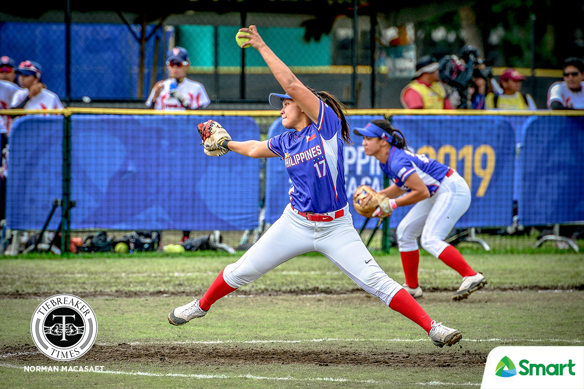 2019-sea-games-softball-philippines-def-thailand-ezra-jalandoni PH Baseball, RP Blu Girls and Boys earn top seed in SEA Games 2019 SEA Games Baseball News Softball  - philippine sports news