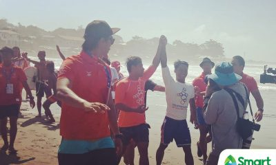 Tiebreaker Times PH surfer Roger Casugay gives up chance at SEAG gold to help INA rival/guest 2019 SEA Games News Surfing  Roger Casugay 2019 SEA Games - Surfing 2019 SEA Games