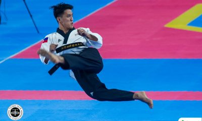 Tiebreaker Times Jeordan Dominguez claims inaugural SEAG men's freestyle poomsae title 2019 SEA Games News Taekwondo  Jeordan Dominguez 2019 SEA Games - Taekwondo 2019 SEA Games