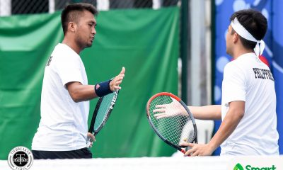 Tiebreaker Times Alcantara, PH Davis Cup team vow to put up valiant stand vs Tsitsipas-led Greece Davis Cup News Tennis  Ruben Gonzales Philippine Men's National Tennis Team Jeson Petrombon Francis Alcantara Eric Olivarez Chris Cuarto AJ Lim 2020 Davis Cup