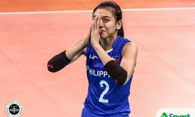 Tiebreaker Times Alyssa Valdez, Denden Lazaro call on athletes to make a stand News PVL Volleyball  Denden Lazaro Alyssa Valdez