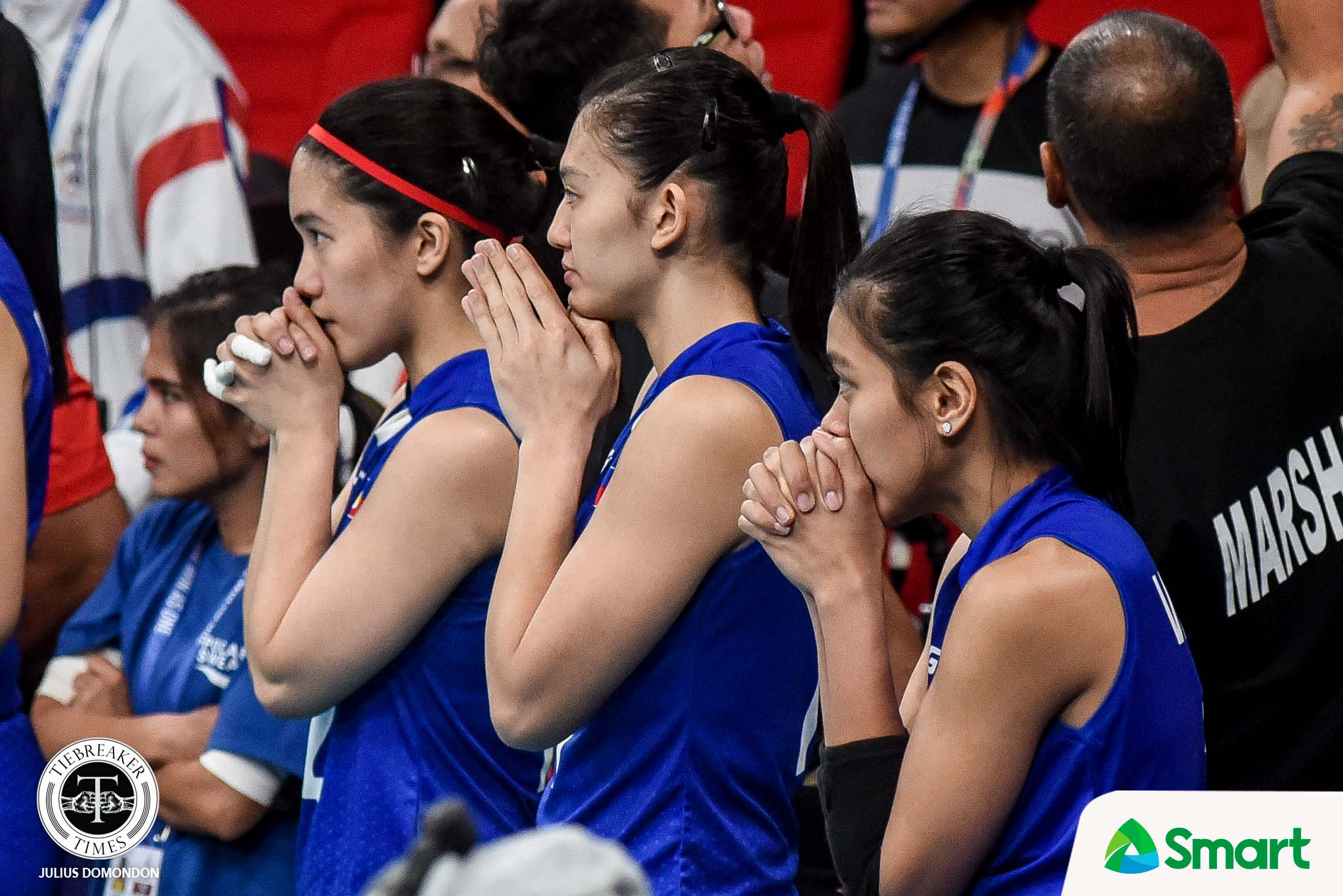 Tiebreaker Times Alyssa Valdez harbors no ill feelings for late-game benching 2019 SEA Games News Volleyball  Philippine Women's National Volleyball Team Alyssa Valdez 2019 SEA Games - Volleyball 2019 SEA Games