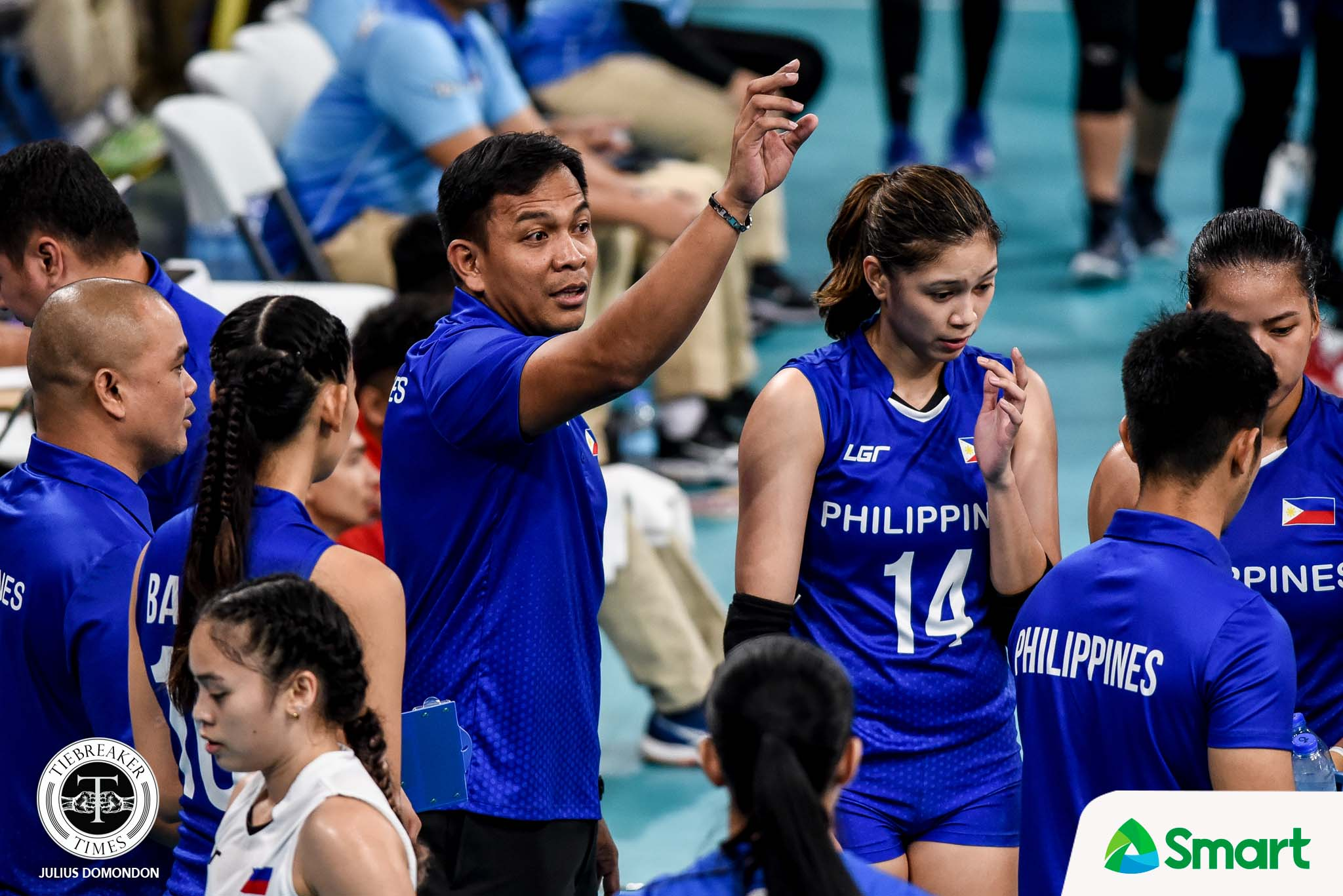 Tiebreaker Times Ces Molina hopes SEAG fiasco will never happen again to PWNVT 2019 SEA Games News Volleyball  Philippine Women's National Volleyball Team Ces Molina 2019 SEA Games - Volleyball 2019 SEA Games