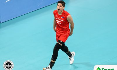 Tiebreaker Times Espejo on ending Thailand's reign: 'Wala talagang imposible' 2019 SEA Games News Volleyball  Philippine Men's National Volleyball Team Marck Espejo 2019 SEA Games - Volleyball 2019 SEA Games