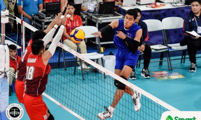 Tiebreaker Times Brave PMNVT's dream of SEAG gold ends at hands of Indonesia 2019 SEA Games News Volleyball  Philippine Men's National Volleyball Team Marck Espejo Dante Alinsunurin Bryan Bagunas 2019 SEA Games - Volleyball 2019 SEA Games