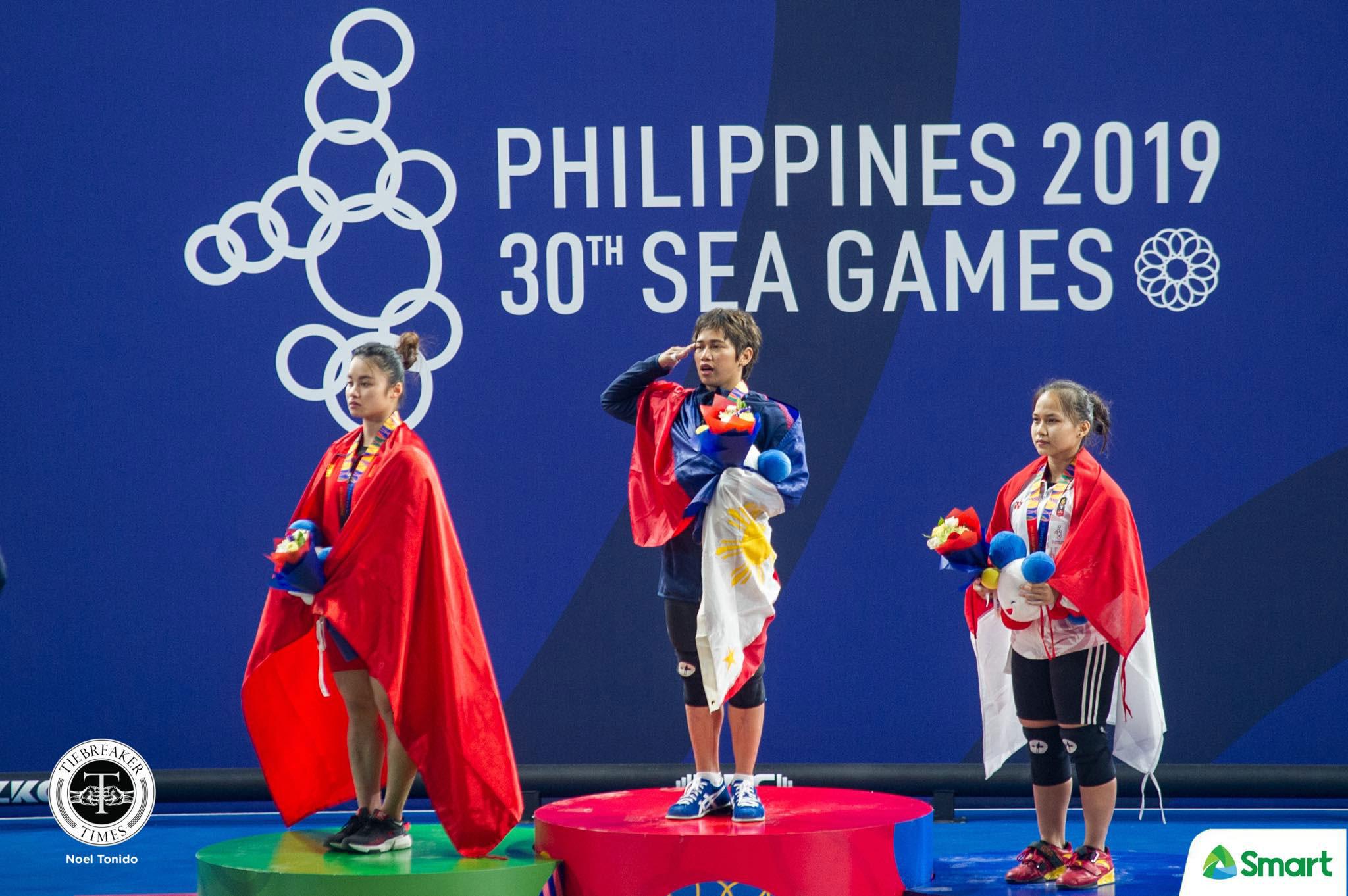 Tiebreaker Times Hidilyn Diaz looks back on long journey to SEA Games gold 2019 SEA Games News Weightlifting  Hidilyn Diaz 2019 SEA Games - Weightlifting 2019 SEA Games