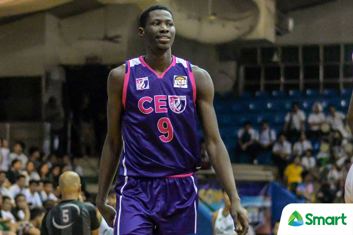 Tiebreaker Times CEU's Malick Diouf set to transfer to UP Basketball News UAAP UCBL UP  UP Men's Basketball UAAP Season 84 Men's bASKETBALL UAAP Season 84 malick diouf CEU Scorpions
