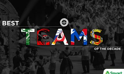 Tiebreaker Times I Love the 2010s: Best Teams of the Decade Basketball Football Gilas Pilipinas Mixed Martial Arts News ONE Championship PBA Philippine Azkals Softball Volleyball  Team Lakay San Miguel Beermen San Mig Coffee Mixers Philippine Azkals NU Women's Basketball Gilas Pilipinas Men DLSU Women's Volleyball Ateneo Men's Basketball Adamson Softball 2019 SEA Games