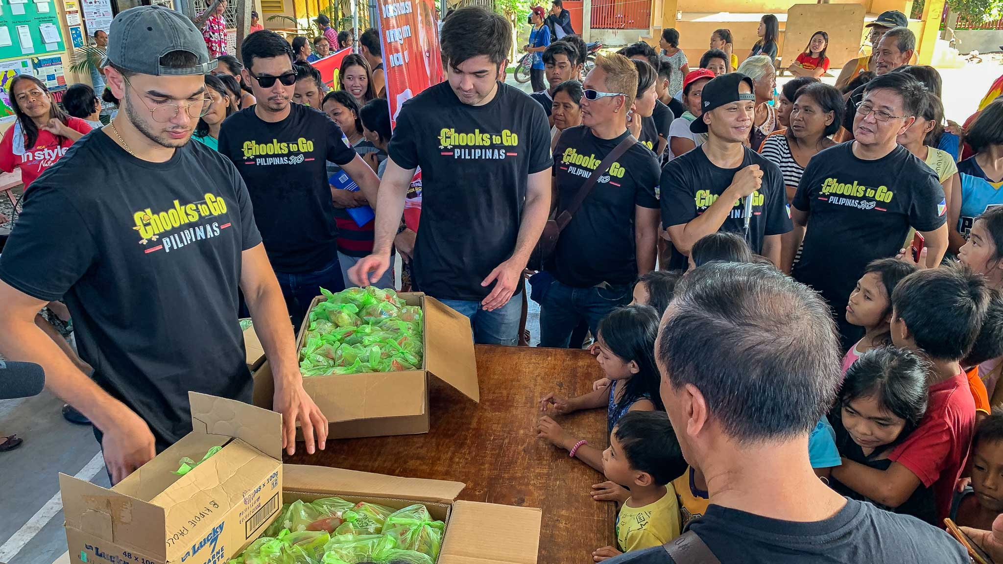 Tiebreaker Times Paras bros, Chooks-to-Go help out in Davao relief operations Chooks-to-Go Pilipinas 3x3 News  Ronald Mascarinas Kobe Paras Chooks-to-Go André Paras