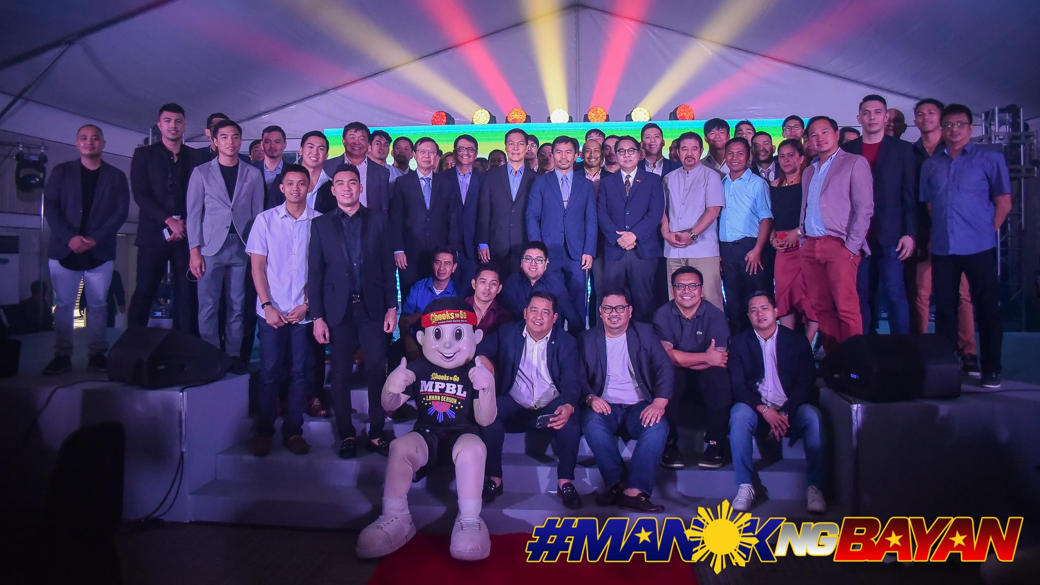 Tiebreaker Times Chooks-to-Go to support MPBL for next five years Basketball MPBL News  Ronald Mascarinas Manny Pacquiao Eric Altamirano Chooks-to-Go 2019-20 MPBL Lakan Cup