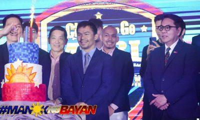 Tiebreaker Times Pacquiao denies talking politics with Arum: 'Hindi panahon ng politika ngayon' Boxing News  Manny Pacquiao Coronavirus Pandemic Bob Arum