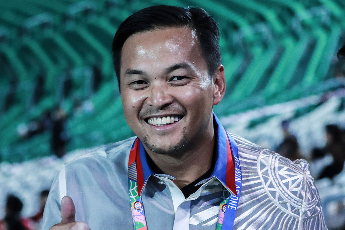 Tiebreaker Times With Duterte's backing, PH on target to end Olympic gold drought, says Mikee Romero 2019 SEA Games News POC/PSC  Rodrigo Duterte Mikee Romero Bambol Tolentino 2020 Olympics 2019 SEA Games