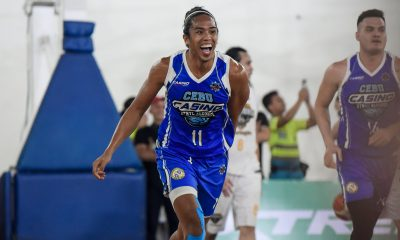 Tiebreaker Times Octobre comes alive late as Cebu keeps MPBL playoff hopes alive at Gen San's expense Basketball MPBL News  William McAloney Robby Celiz Rich Alvarez Rhaffy Octobre Noynoy Falcasantos Kraniel Villoria General Santos City Warriors Cebu Sharks 2019-20 MPBL Lakan Cup