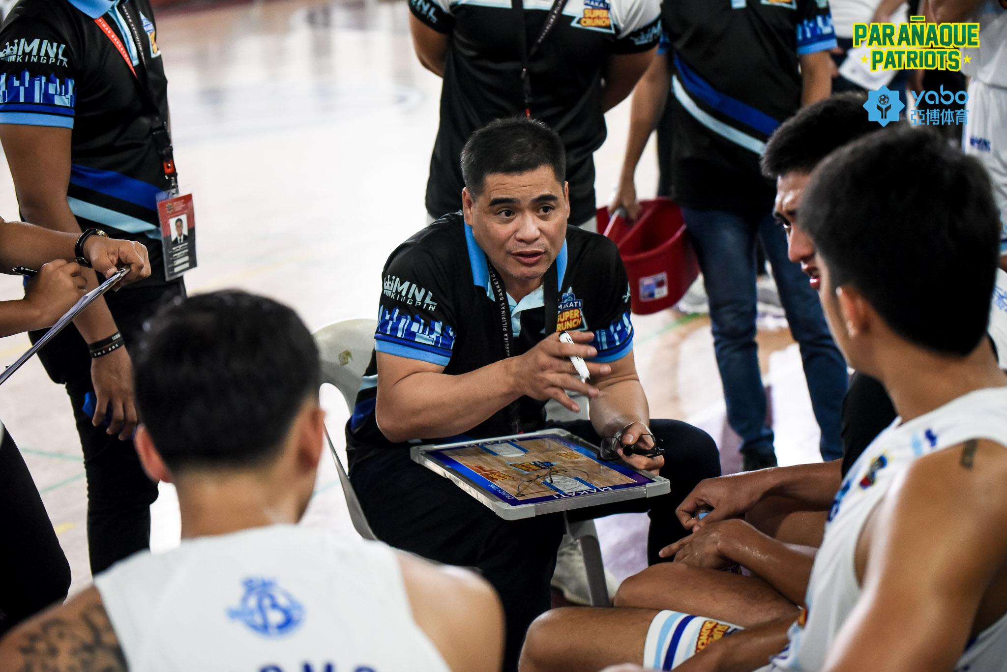 MPBL-2019-Makati-vs-Bacoor-Mendoza Makati Super Crunch team owner says Cholo Villanueva out due to 'personal reasons' Basketball MPBL News  - philippine sports news