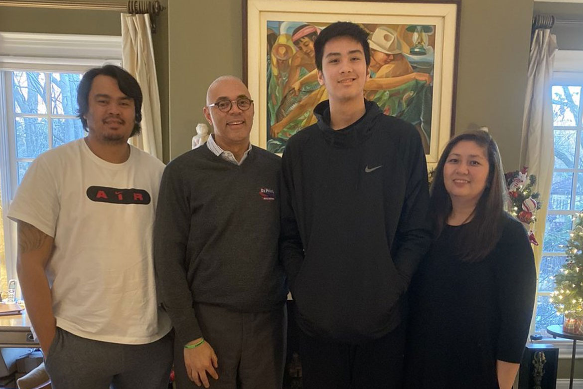 Tiebreaker Times Kai Sotto makes unofficial visit to Georgia Tech as DePaul coach drops by Basketball News  Kai Sotto Georgia Tech Yellow Jackets DePaul Blue Demons