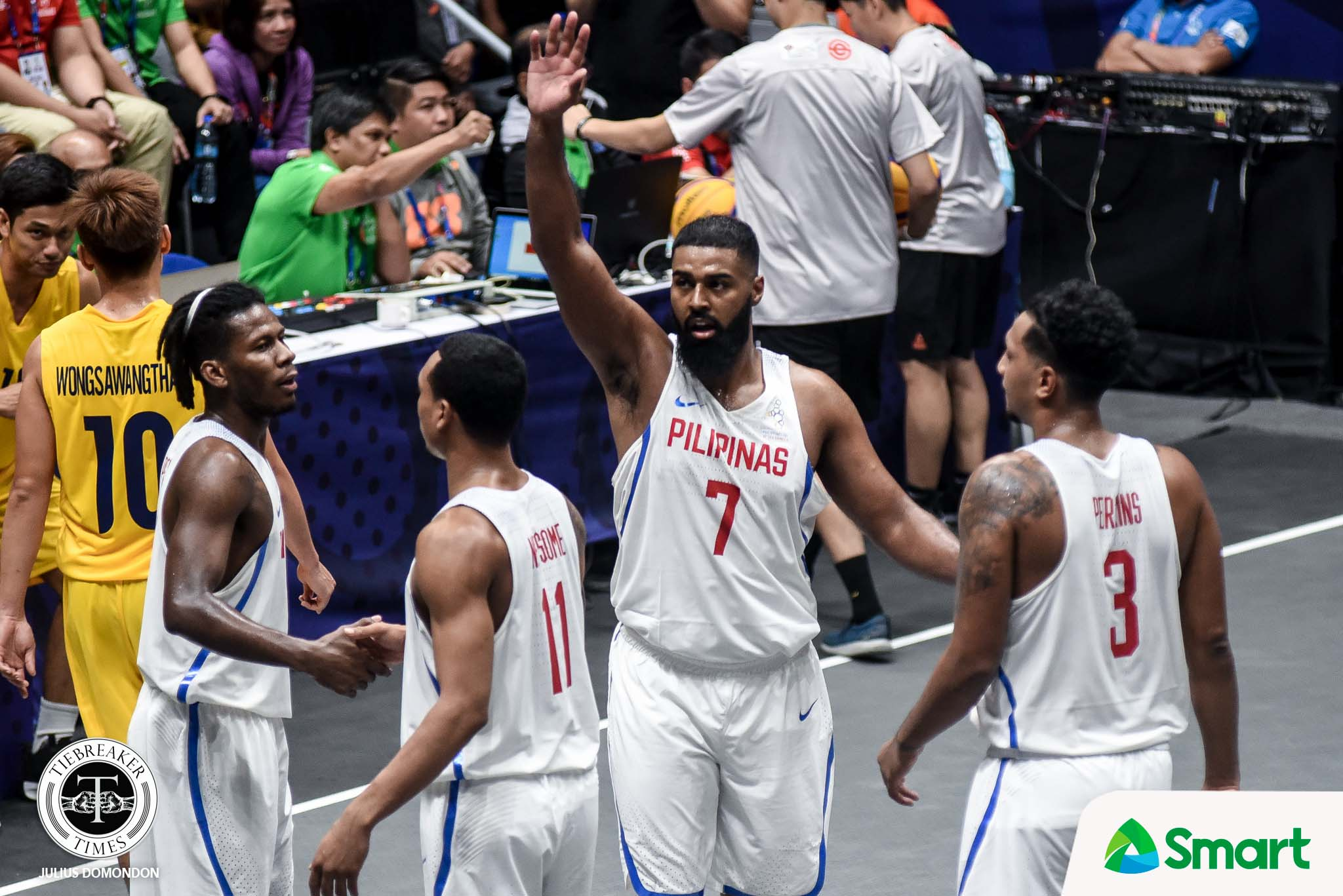 Tiebreaker Times Gilas Men's 3x3 send Thailand to submission, barge into SEA Games Finals 2019 SEA Games 3x3 Basketball Gilas Pilipinas News  Thailand (Basketball) Mo Tautuaa Jason Perkins CJ Perez Chris Newsome 2019 SEA Games - 3x3 Basketball 2019 SEA Games
