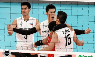 Tiebreaker Times PMNVT falls in three close sets to Indonesia, to face Thailand in SEAG semis 2019 SEA Games News Volleyball  Philippine Men's National Volleyball Team Marck Espejo Indonesia (Volleyball) Bryan Bagunas 2019 SEA Games - Volleyball 2019 SEA Games