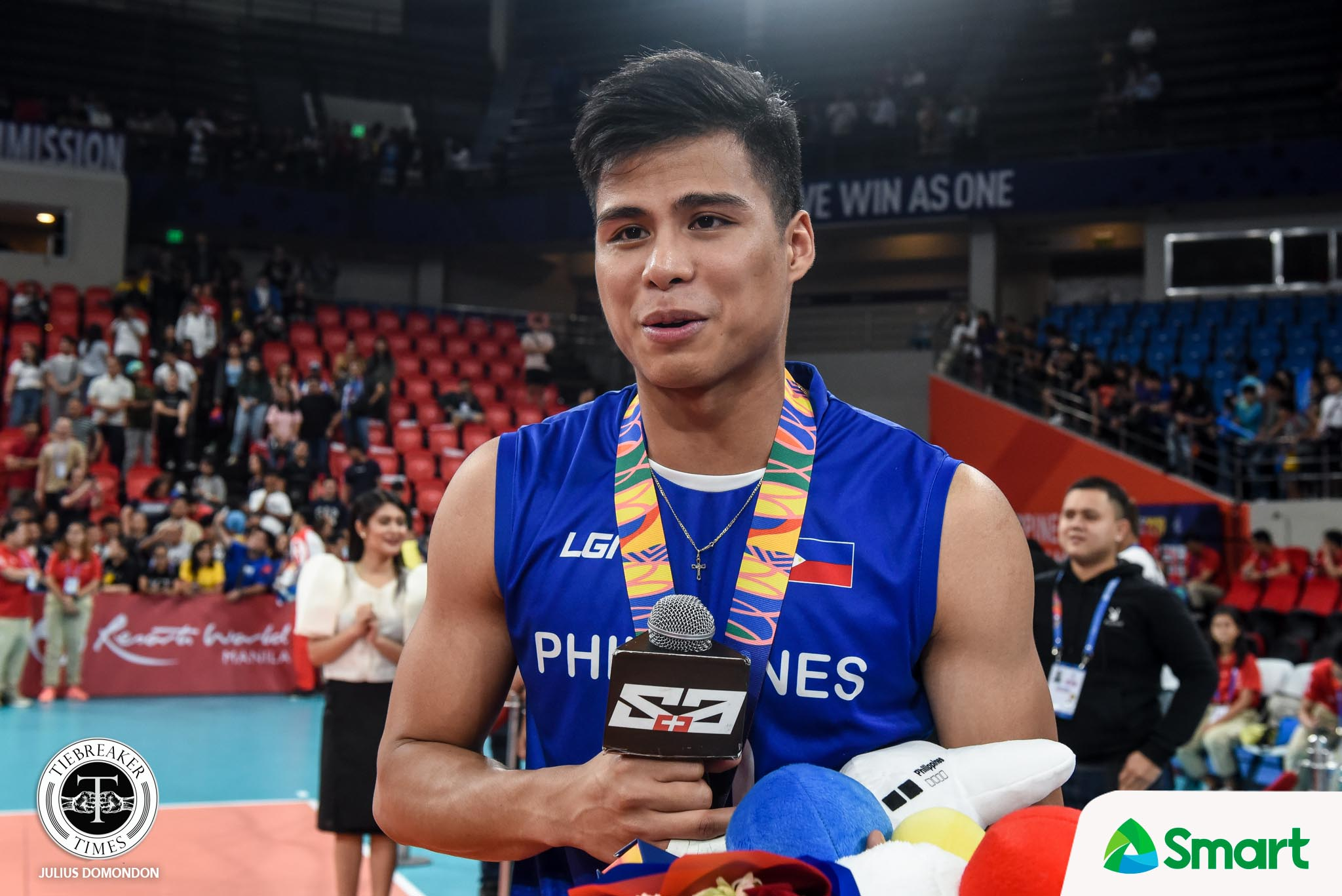 Tiebreaker Times John Vic De Guzman hopes SEAG silver proves there's a future in men's vball News Spikers' Turf Volleyball  Philippine Men's National Volleyball Team Marck Espejo John Vic De Guzman 2020 Spikers Turf Season