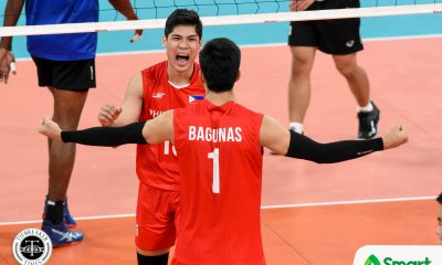 Tiebreaker Times PMNVT dethrones Thailand, ends 42-year SEAG Finals drought 2019 SEA Games News Volleyball  Thailand (Volleyball) Philippine Men's National Volleyball Team Marck Espejo Dante Alinsunurin Bryan Bagunas 2019 SEA Games - Volleyball 2019 SEA Games