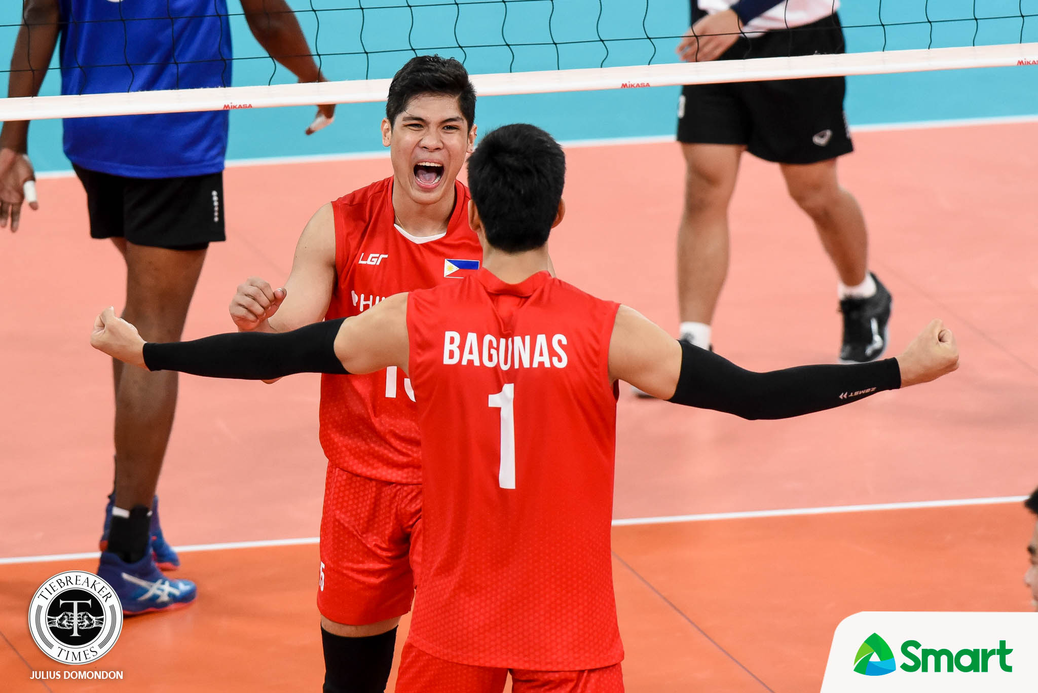 Tiebreaker Times Bryan Bagunas seizes the moment for PMNVT: 'Ba't pa ko bibitaw?' 2019 SEA Games News Volleyball  Philippine Men's National Volleyball Team Bryan Bagunas 2019 SEA Games - Volleyball 2019 SEA Games