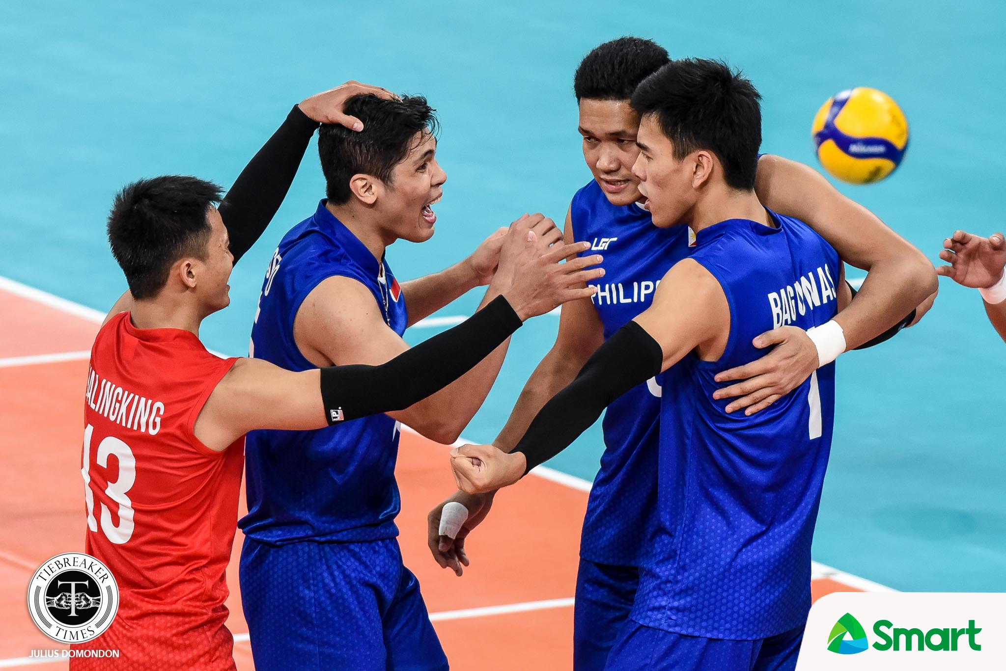 Tiebreaker Times Wait for Bagunas-Espejo tandem all worth it 2019 SEA Games News Volleyball  Philippine Men's National Volleyball Team Pascal Laurens Marck Espejo Bryan Bagunas 2019 SEA Games - Volleyball 2019 SEA Games
