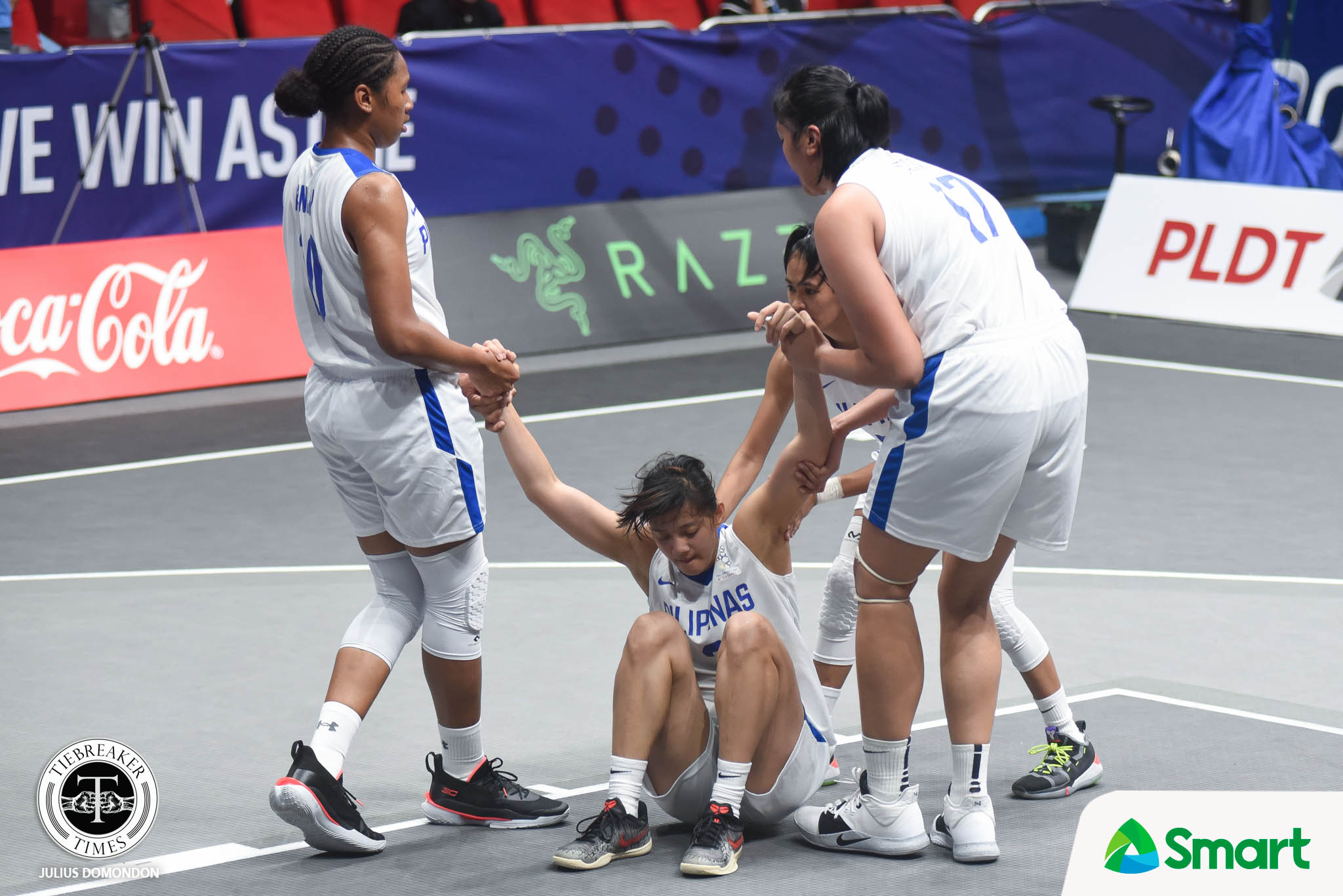 Tiebreaker Times Gilas Women's 3x3 suffer heartbreaker at Thailand's hands to close out SEAG elims 2019 SEA Games 3x3 Basketball Gilas Pilipinas News  Thailand (Basketball) Janine Pontejos Jack Animam Gilas Pilipinas Women Clare Castro Afril Bernardino 2019 SEA Games - 3x3 Basketball 2019 SEA Games